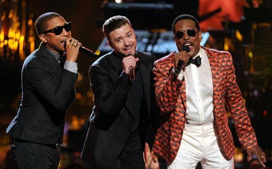 Pharrell Williams, Justin Timberlake, Charlie Wilson