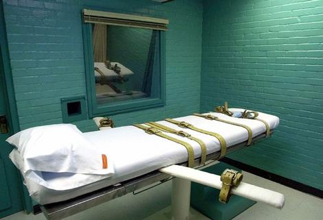 The Texas death chamber in Huntsville.