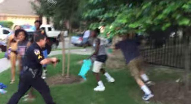 cops-guns-pool-party