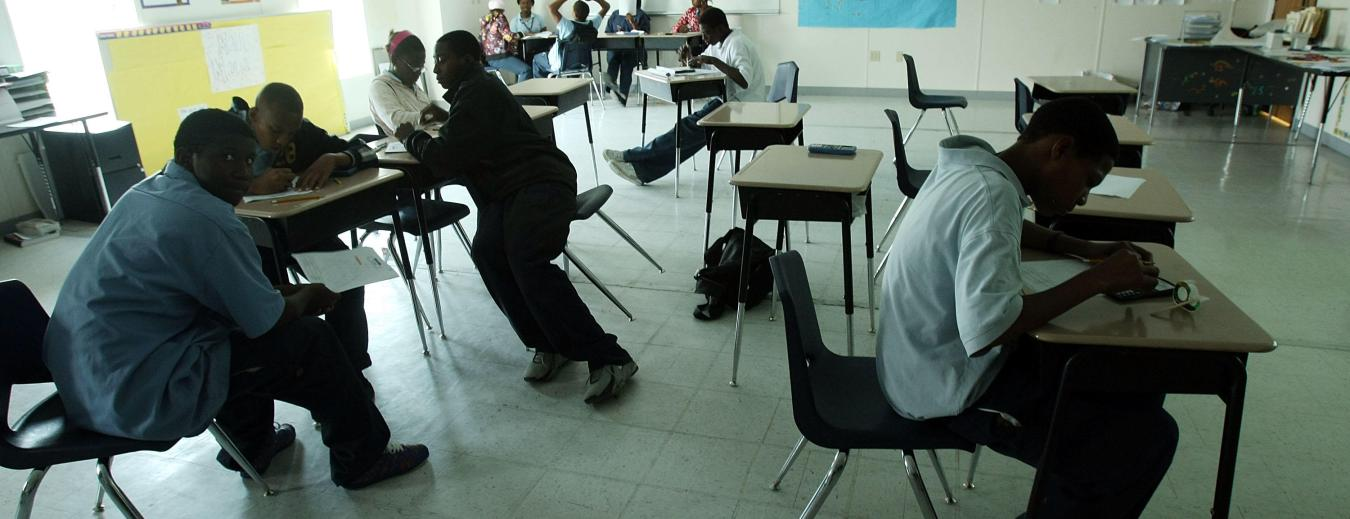 Say What? Detroit 8th-Grader Taught Math At Understaffed School, Lawsuit Says