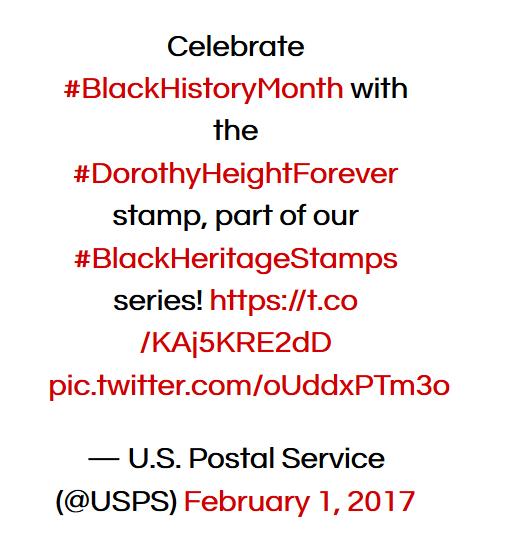Black History Stamp